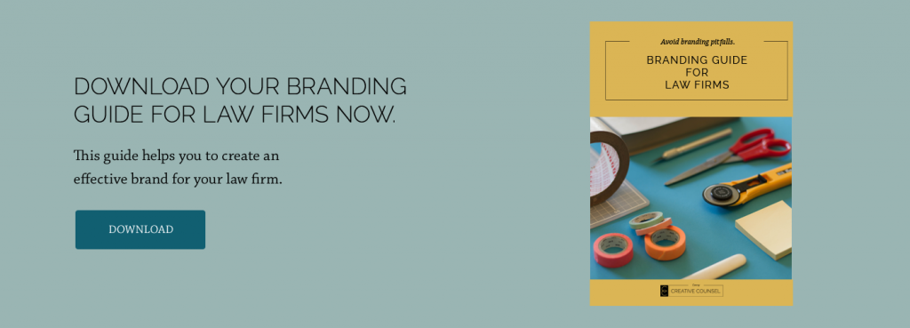 branding guide for law firms