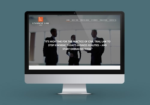 levangie law website